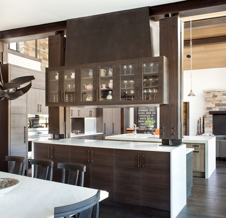 mountain retreat exquisite kitchen design