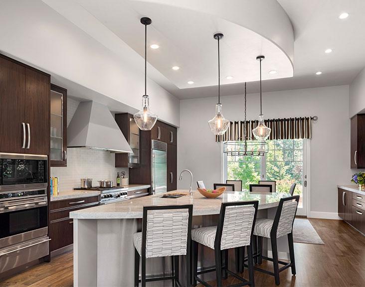 contemporaryretreat featured exquisite kitchen design