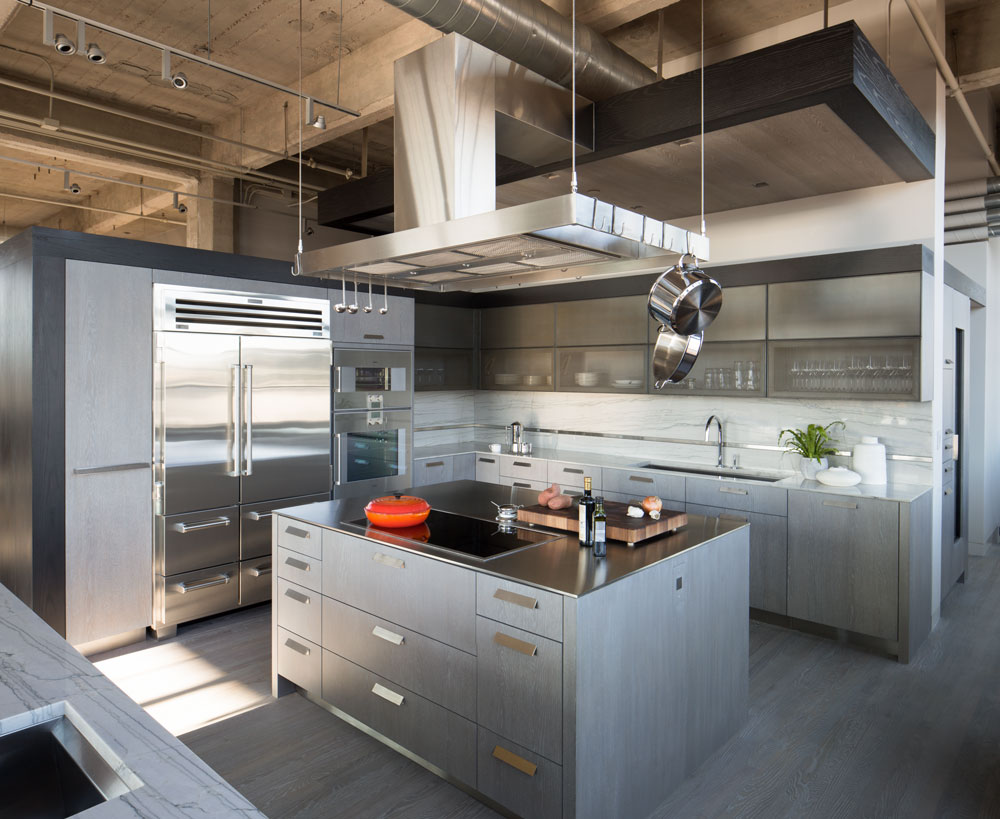 Industrial Loft Exquisite Kitchen Design