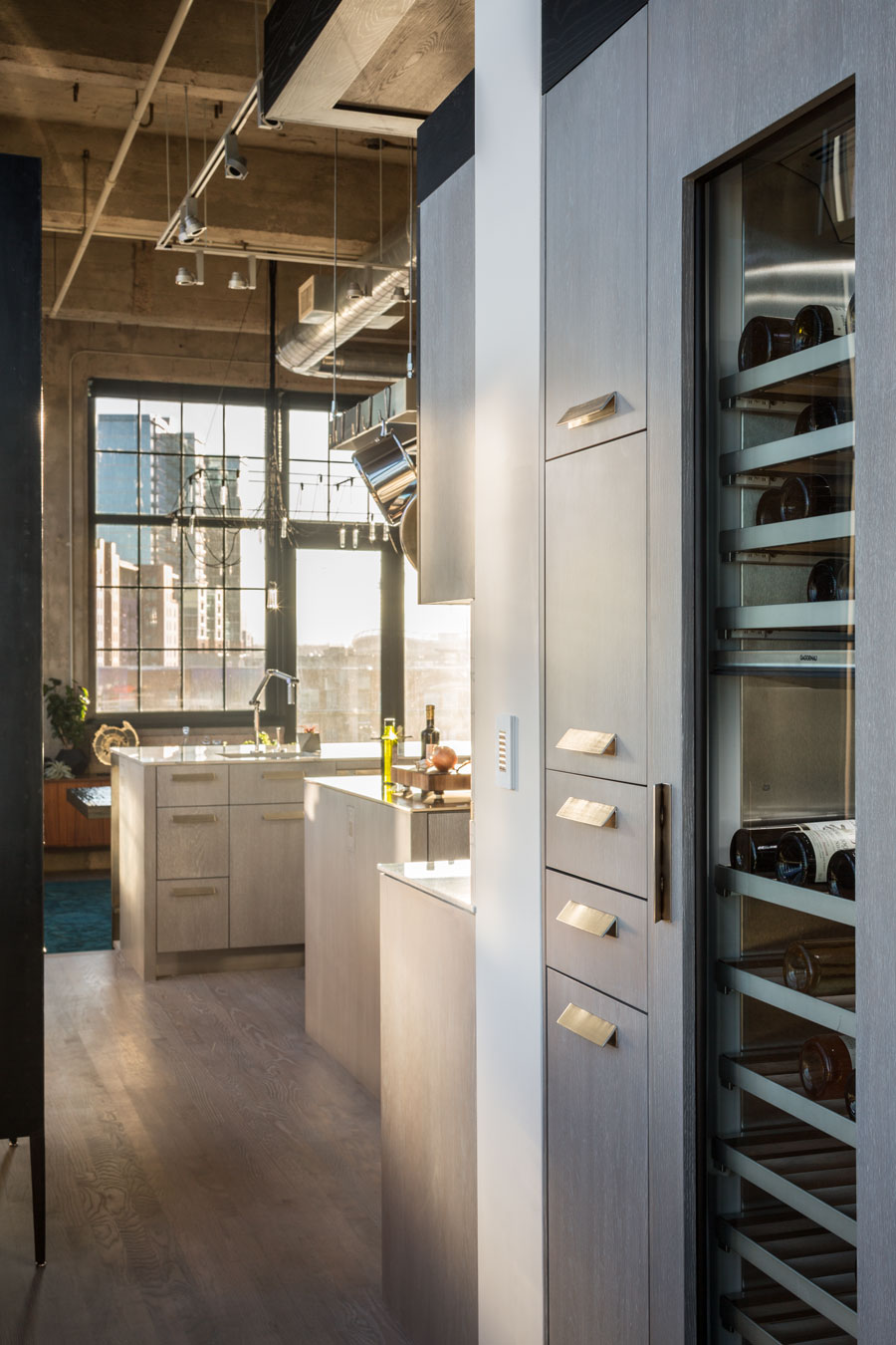 Industrial Loft Exquisite Kitchen Design Portfolio