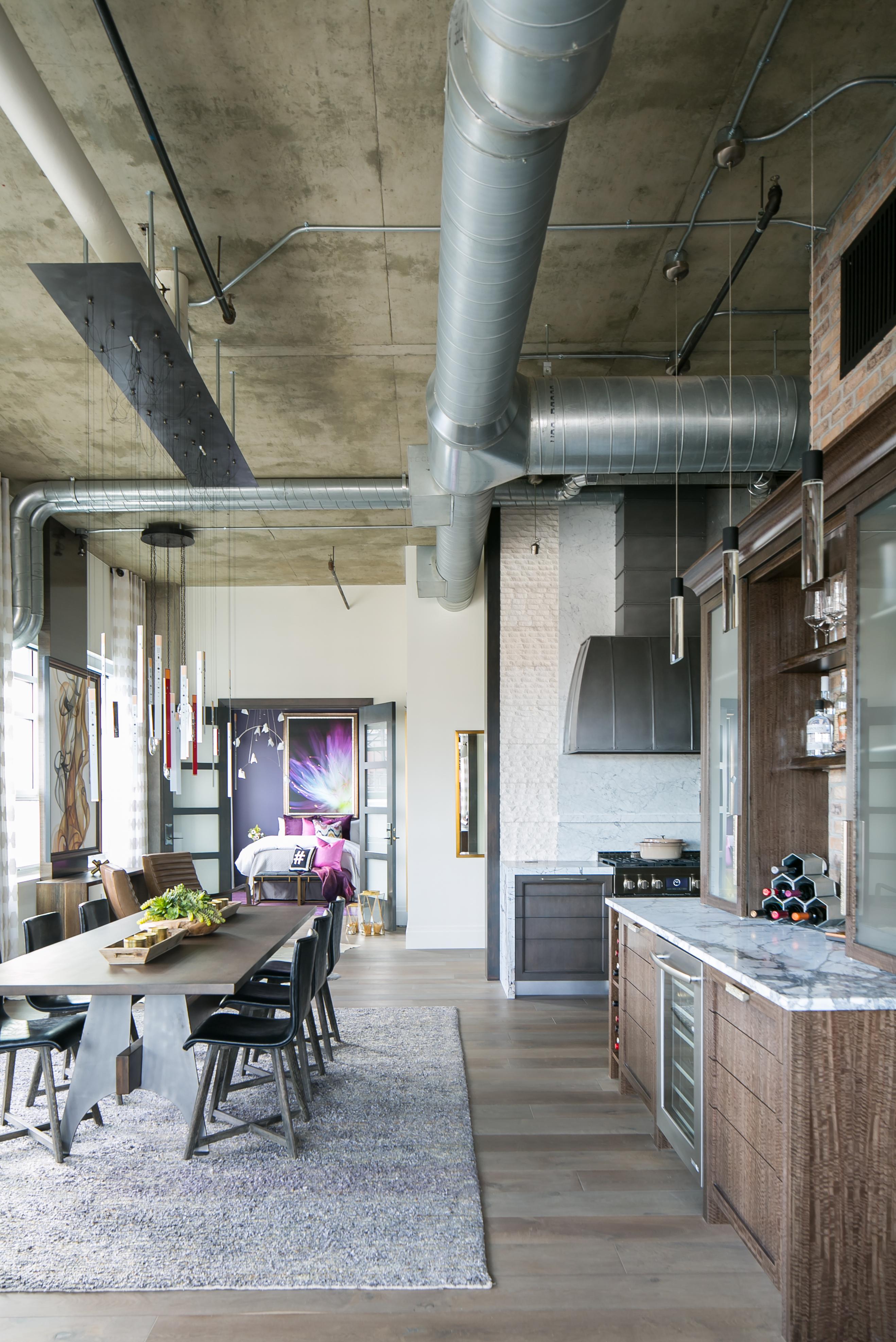 Downtown Denver Loft Exquisite Kitchen Design Portfolio